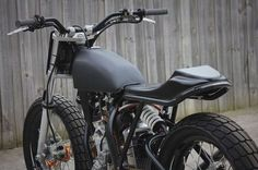 KTM 350 SXF 2016 Flat Track by Engineered to Slide #motorcycles #flattracker #motos | caferacerpasion.com