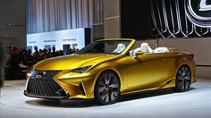 The stunning Lexus LF-C2 concept looks ready for the road: