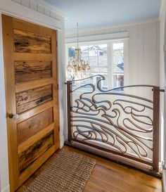 Love the door and the railing  House of Turquoise: CRG Companies