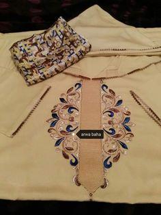 Pakistani Fashion Casual, Abaya Fashion, Couture Fashion, Fashion Outfits, Zardozi Embroidery, Embroidery Dress, Morrocan Dress, Crochet Skirt Pattern, Stylish Blouse Design