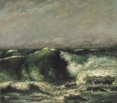 The Wave, Courbet