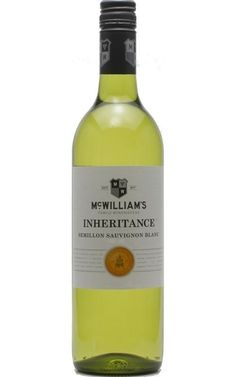 #McWilliams Inheritance Semillon Sauvignon Blanc 2018 New South Wales - 12 Bottles