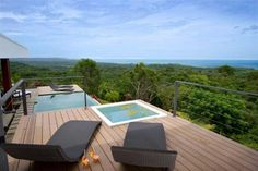 I want a view like that from MY back porch!  Black Beauty Luna Villa in Costa Rica
