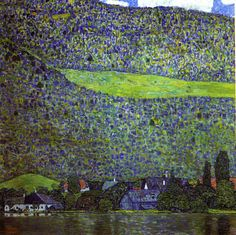 Schloss Kammer sull'Attersee III, 1910,