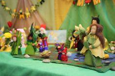 waldorf table dolls