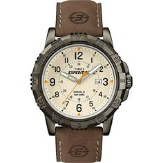 Men's Wrist Watches - Timex Expedition Rugged Metal Field Watch  NaturalBrown * See this great product.