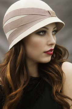 Day Cloche Hat by MaggieMowbrayHats on Etsy