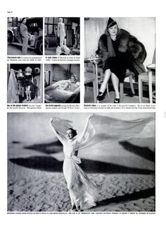 Marlene Dietrich; The most famous legs in history lose their job. ※1/3/1938,LIFE #movies