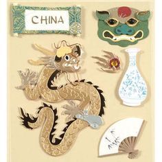 WANT! China Stickers - Jolees Boutique