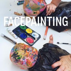 Washable Face Painting for Toddlers & Preschoolers! www.acraftyliving.com