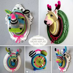 Crochet creations by Manafka Mina - Picked by www.ImaginativeBloom.com