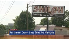 Maryville restaurant owner advertises allowing guns