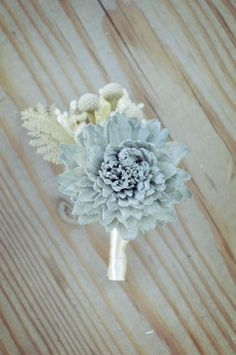 Slate Wedding Collection Boutonniere Bouquet Sola Flowers And ...