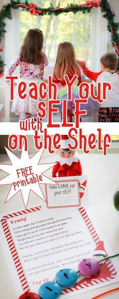 Use your Elf on the Shelf for a higher purpose this holiday season - learning through play! Each morning, your elf will bring supplies for a simple activity - set it up in minutes and enjoy a cup of hot coffee while your kids play away Preschool Christmas, Christmas Activities, Christmas Crafts For Kids, Christmas Traditions, Christmas Themes, Christmas Pops, Christmas Wedding Cakes, Christmas Wedding Invitations, Printable Activities For Kids