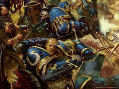 …and the well-rounded, regal Ultramarines.