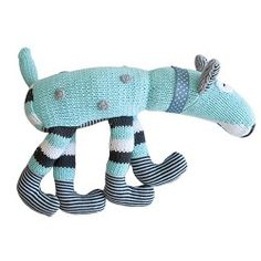 Hand Knitted 'Louis' Dog $45