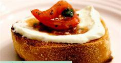 Whipped Feta & Tomato Crostini | Diply