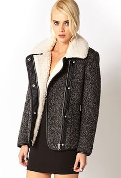 Winter Nights Bomber Jacket | FOREVER 21 - 2073375117