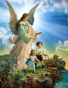 anjos guardiões e espiritos protetores - Pesquisa Google