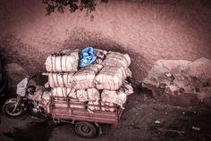 baggage vignette motor storage plastic motorcycle tires