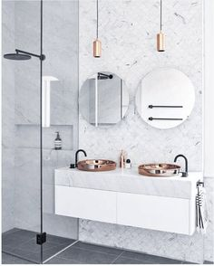 INTERIOR TRENDS | Small Bathroom Trends 2017
