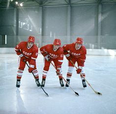THE KLM LINE | Makarov, Larionov, Krutov Olympic Hockey, Women's Hockey, Hockey Players, Soccer, Hockey Stuff, Red Wings Hockey, Red Army, New York Rangers, World Championship