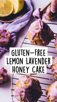 Gluten Free Deserts, Gluten Free Sweets, Gluten Free Cakes, Gluten Free Baking, Honey Recipes, Gf Recipes, Gluten Free Recipes, Gf Cake Recipe, Fancy Cookies