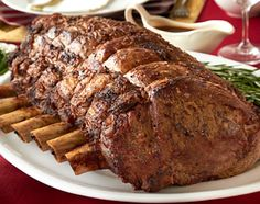 Standing Beef Rib Roast for Passover