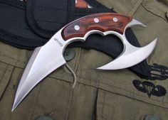 karambit | Fury Double edge Strong Karambit Sharpened, Canada Outdoor knives and ...