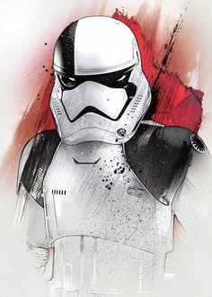 Official Star Wars The Last Jedi Character Portraits Stormtrooper artwork by artist Star Wars Fan Art, Star Wars Holonet, Star Wars Gifts, Poster S, Star Wars Poster, Star Wars Characters, Star Wars Episodes, Stormtrooper Art, Images Star Wars