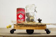 Classic Mini Industrial Cart Made to Order by oldnewhouse on Etsy, $65.00
