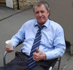 John Nettles He wrote and narrated the recent series The Channel Islands At War, which marked the anniversary of the invasion and occupation of the islands by the Nazis, and hopes to do more documentaries. British Comedy, British Actors, Inspector Barnaby, Detective, Midsomer Murders, East Coast Road Trip, End Of An Era, Comedy Tv, Murder Mysteries
