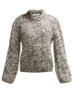 6ea9cc3de4 Julliard wool and mohair-blend sweater | Ganni | MATCHESFASHION.COM UK