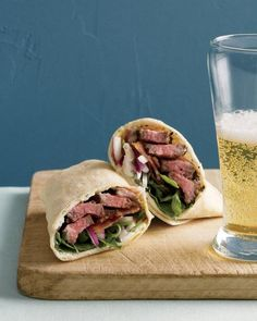 Steak Sandwich Wrap Recipe