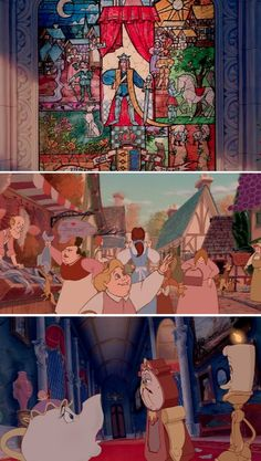 Beauty and the Beast has everything: romance, humor, drama, music, sweeping visuals, and a really great life lesson. Suffice to say we've seen the movie a few times, and after watching it for our entire lives there's a few things we've noticed along the way. These things, specifically.