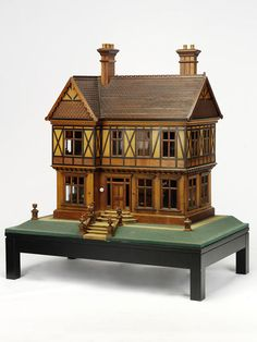 Queen Mary's dolls' house (Dolls' house) | V&A Search the Collections
