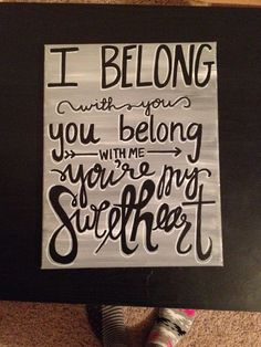 Quotes About Wedding & Love: Lumineers Lyrics this was the song we walked out to at our wedding I need to