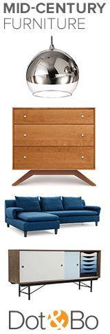 Get This Retro Look   Up to 60% Off Modern Retro Furniture & Décor at dotandbo.com
