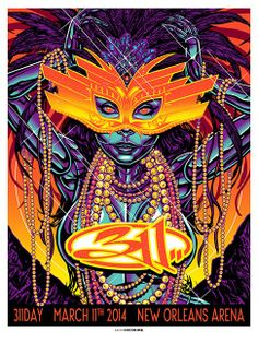 Munk One & Chuck Sperry 311 Day New Orleans Posters World Premiere Exclusive...Wish I could have been there!