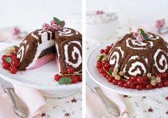 Yummy Christmas Ice Cream Cake