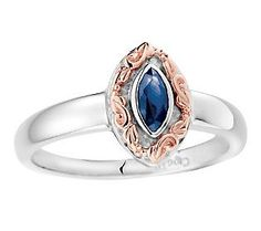Gorgeous! Lillibet Sapphire Ring by Clogau Gold, 14K Gold