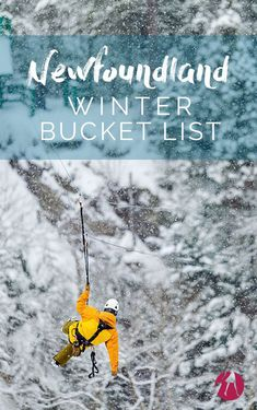 My Newfoundland Winter Bucket List via @suitcaseheels #TravelDestinationsUsaAmerica