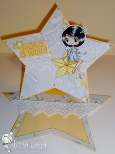 Cosmic Girl by Jessica for Spesch Designer Stamps. Tracey Feeger: Spesch stamps