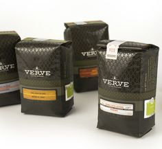 30 Creative Coffee Packages - The Dieline - Verve