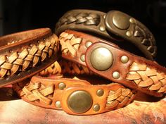 Jeweleeches Vivian Hebing handmade leather braided bracelets