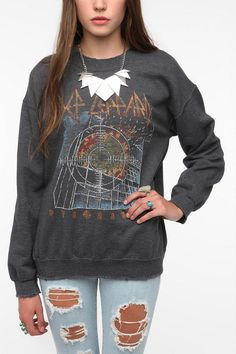 Def Leppard Sweatshirt - From Urban Outfitters