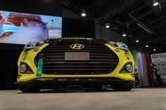 Yellowcake Hyundai Veloster Turbo | Forged Photography