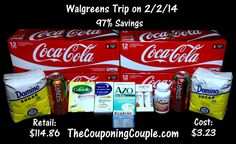 Walgreens Shopping Trip on 2-2 ~ Used 40,000 for $50! - http://www.thecouponingcouple.com/walgreens-shopping-trip-on-2-2-14/  We had a great Walgreens Shopping Trip on 2-2! We used 40,000 points for $50 and bought $114.86 worth of items for only $3.23!   We saved 97% shopping at Walgreens this week!  You can get the FULL BREAKDOWN at the link below ► http://www.thecouponingcouple.com/walgreens-shopping-trip-on-2-2-14/