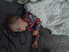 Lapsi on kaunis, kun se nukkuu