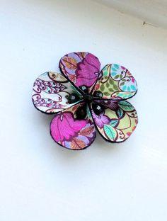 flower clip - boho baby. $12.00, via Etsy.